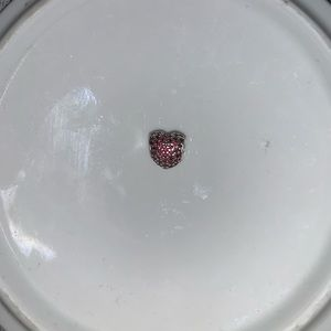 Red Heart Pandora Charm